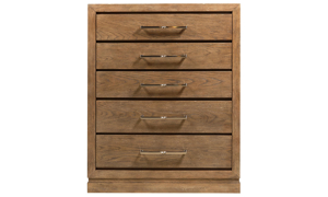 Clemente Pine 5-Drawer Chest