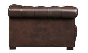 Churchill Walnut Leather Chesterfield Power Recliner