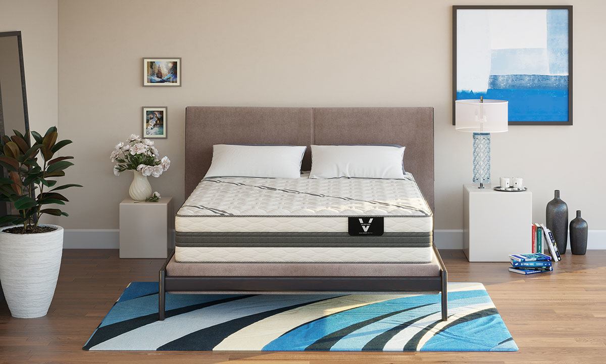 "Picture of VERITAS VH1000 12"" Firm Hybrid Mattresses"