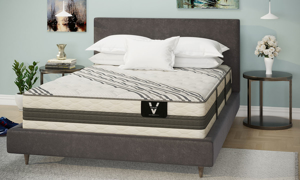 "VERITAS VH5000 13.5"" Plush Hybrid Mattresses"