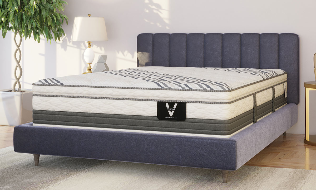 "Picture of VERITAS VH5000 15.5"" Super Pillow Top Hybrid Mattresses"