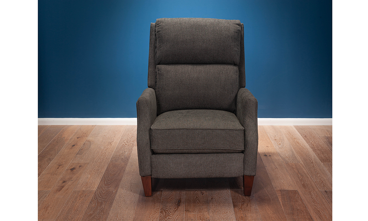 Avignon Charcoal Pushback Recliner