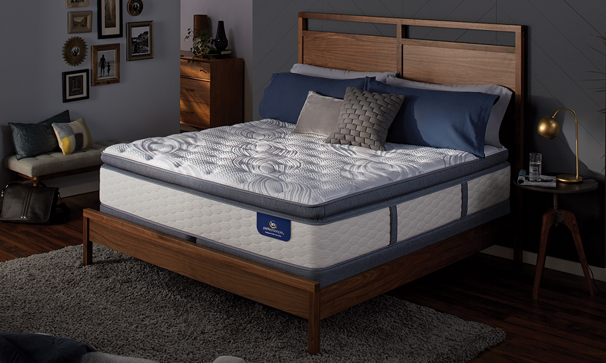 "Serta Perfect Sleeper® 13.75"" Plush Pillowtop Hybrid Mattresses"