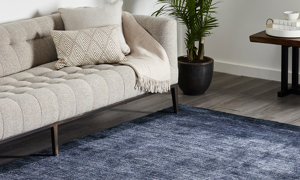 Gianna Navy, Handmade Area Rug