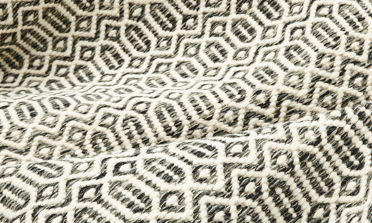 Picture of Chelsea Charcoal, Handmade Area Rug