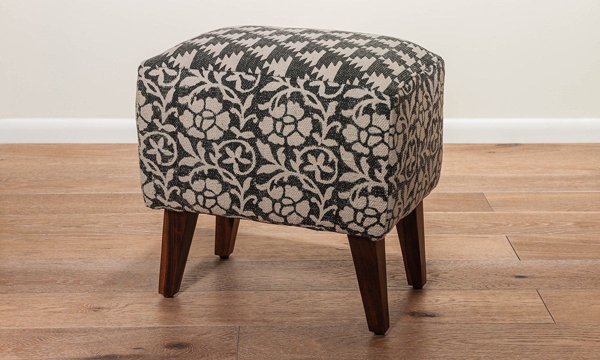 Pink City Gillian Upholstered Ottoman