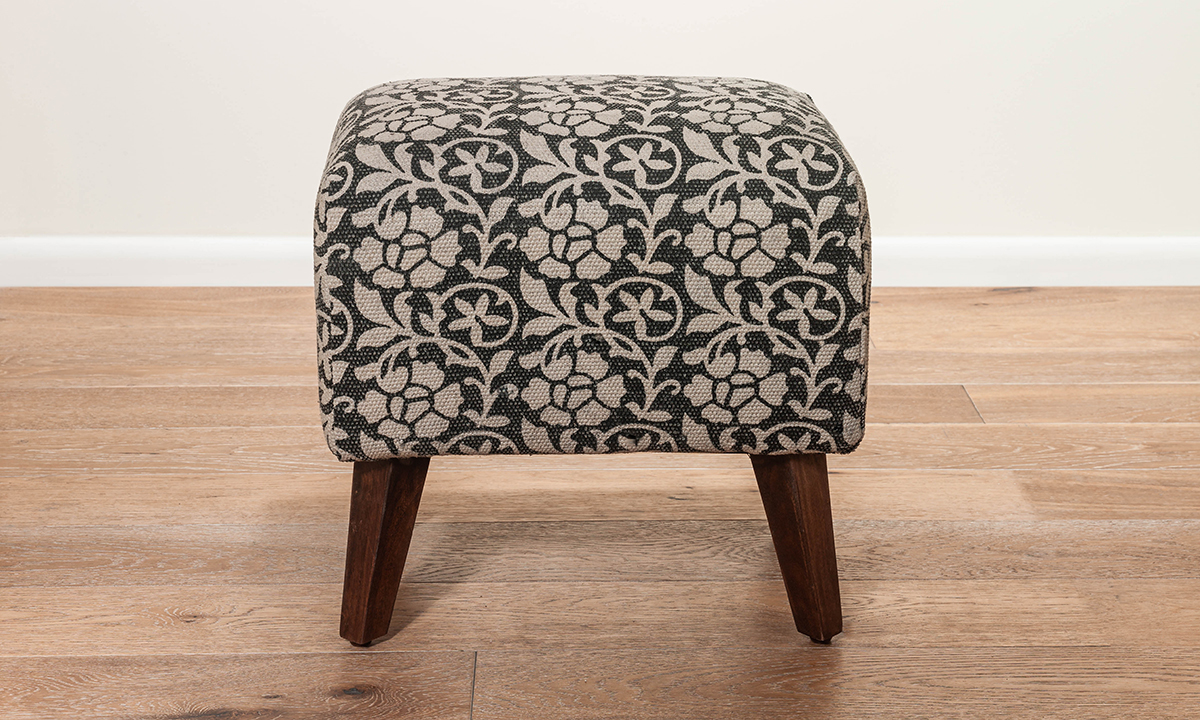 Pink City Claribel Upholstered Ottoman