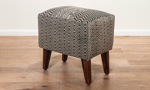 Pink City Phineas Upholstered Ottoman