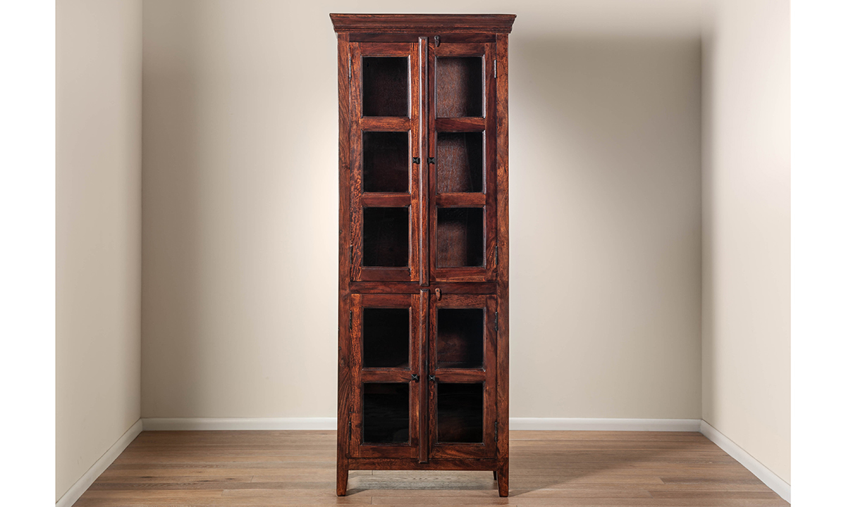 Pink City Monsoon Curio Cabinet