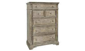 Highland Park Driftwood 5-Drawer Chest