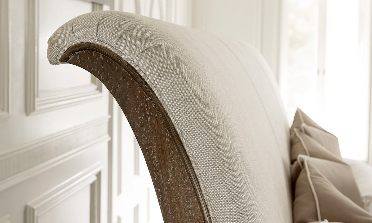 A.R.T. St. Germain Upholstered Queen Sleigh Bed