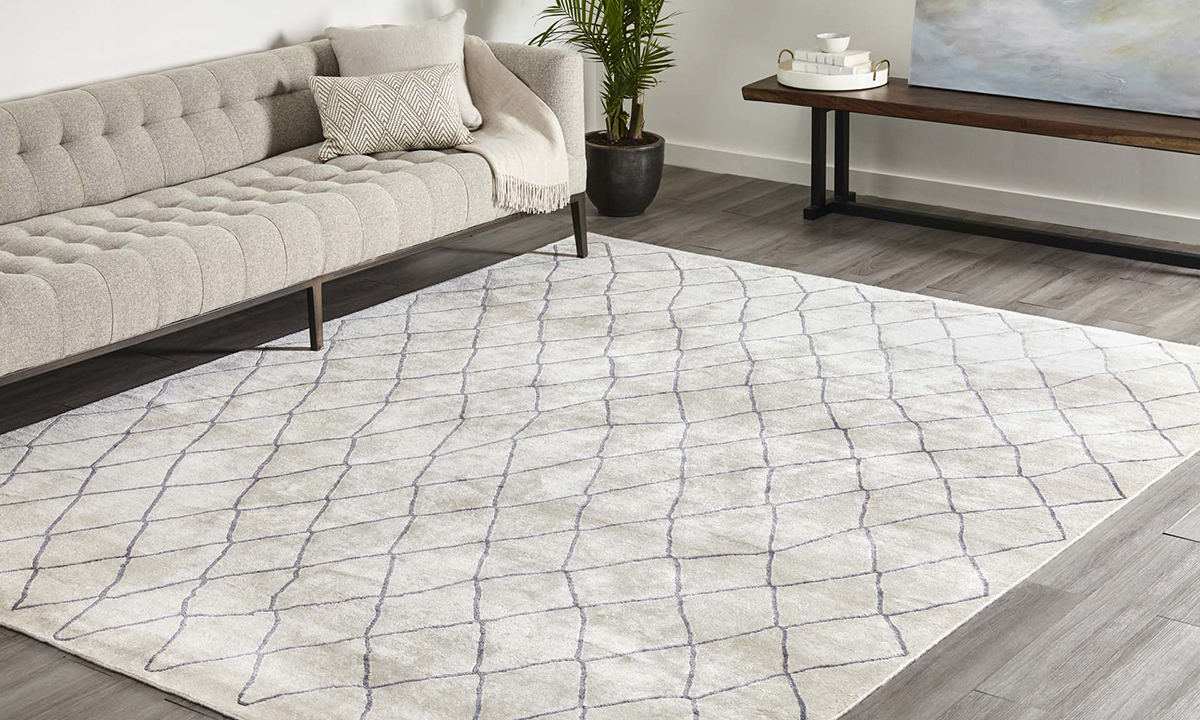 Madeline Ivory, Hand Knotted Area Rug