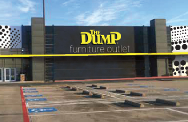 The Dump Luxe Furniture Outlet - Dallas/Irving. Texas