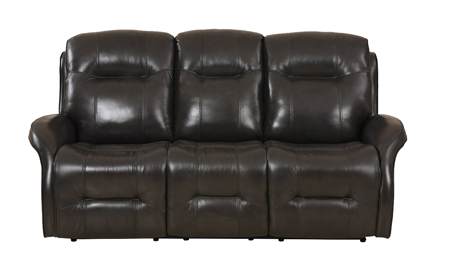 Era Nouveau Barcelona Power Reclining Leather Sofa