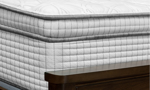 Luxury 14-inch euro top mattress with gel memory foam and wrapped coils in bedroom