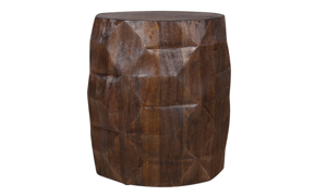 Artesia Home Satin Wood Stool