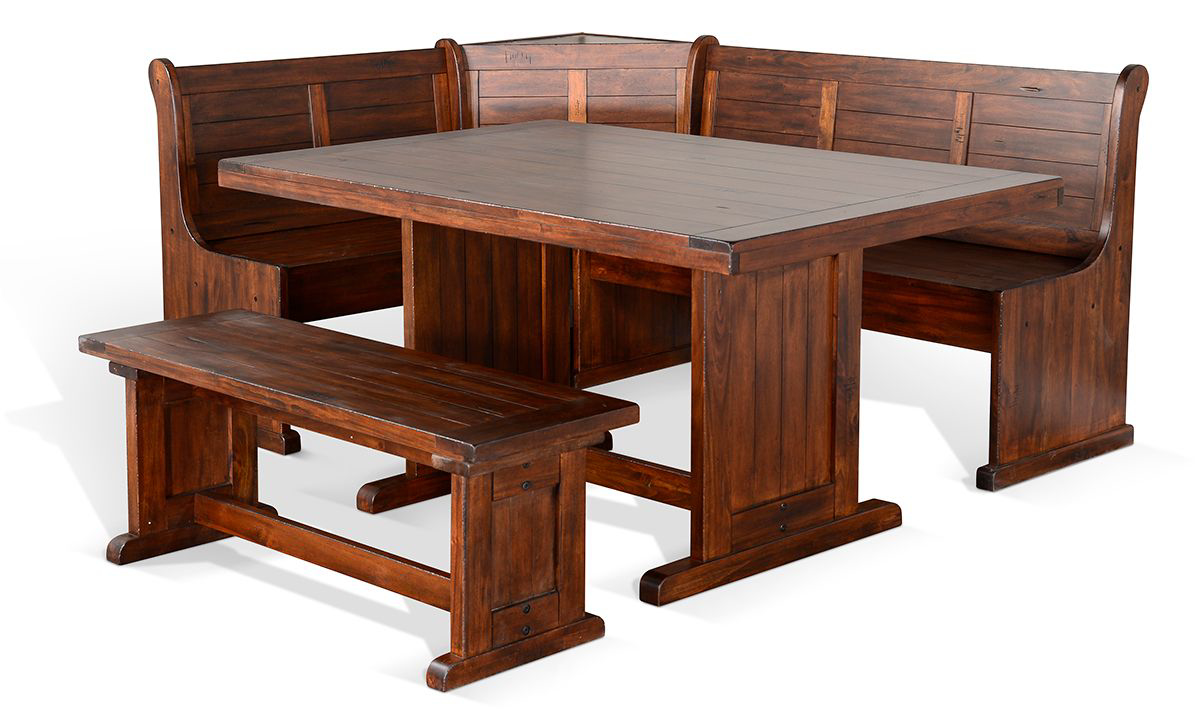 Sunny Designs Tuscany Breakfast Nook 4-Piece Set