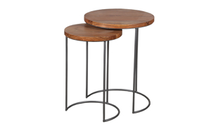 Artesia Home Amaryllis Wood Nesting Tables