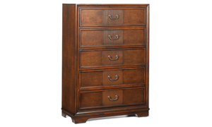 Parkhurst Cherry 5-Drawer Chest