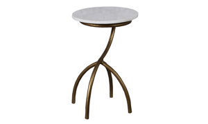 Artesia Home Fuji Marble Side Table