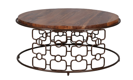 Artesia Home Carnation Cocktail Table