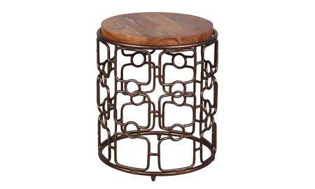 Artesia Home Carnation End Table