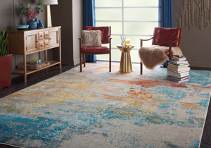 Picture of Celestial CES02 Sealife Area Rugs