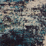 Picture of Celestial CES02 Ivory & Teal Area Rugs