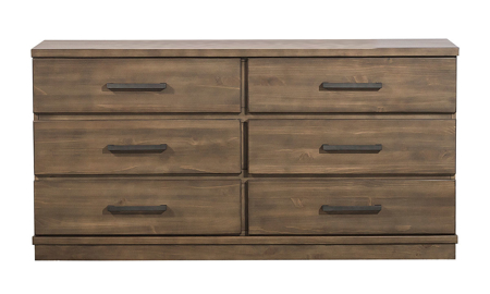 Beckham Brown 6-Drawer Dresser