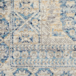 Picture of Lustrous Weave LUW02 Blue & Ivory Area Rugs