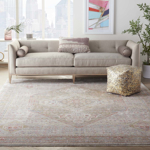 Picture of Homestead HMS03 Beige & Grey Area Rugs