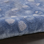 Picture of Prismatic PRS05 Blue Area Rugs