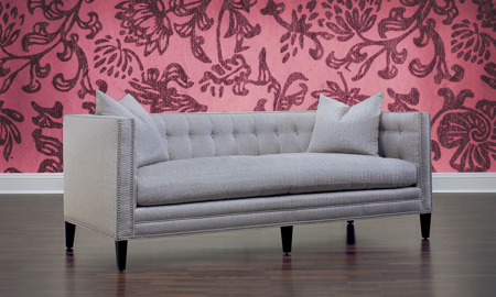 Jessica Jacobs Classics London Tuxedo Sofa