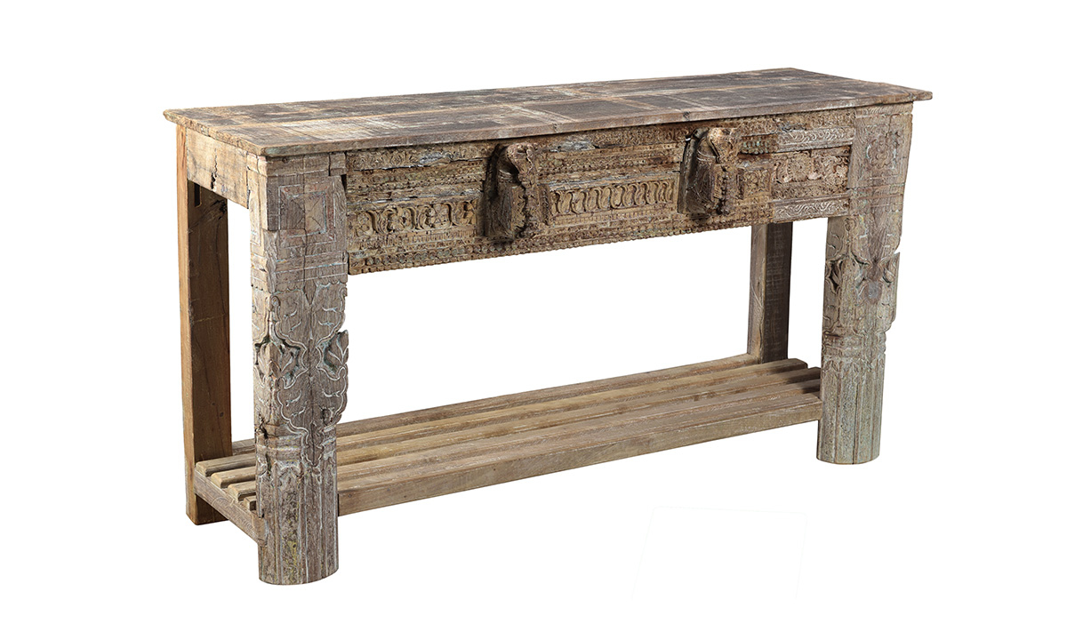Pink City Mehar Console Table