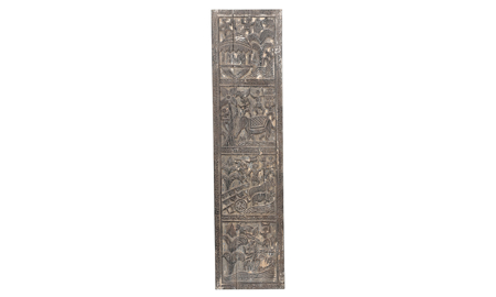 Pink City Zara Carved Wood Wall Panel