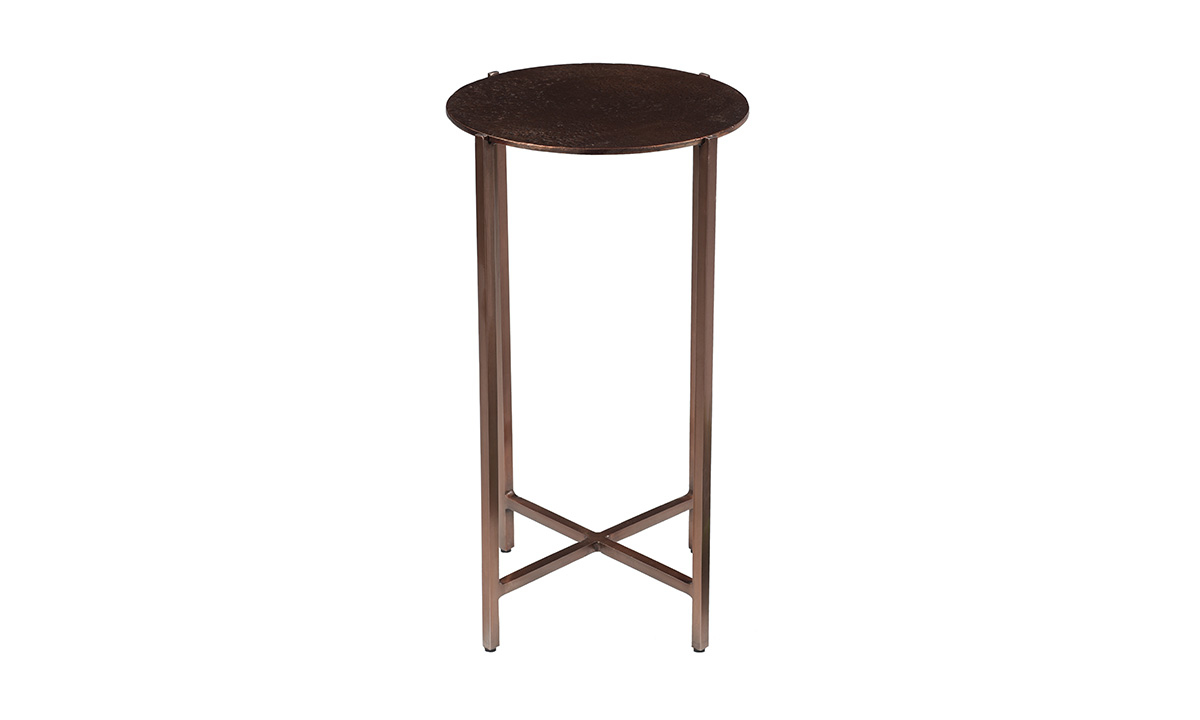 Pink City Rushil Iron Accent Table