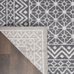 Picture of Palermo PMR02 Charcoal & Silver Area Rugs