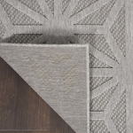 Picture of Cozumel CZM01 Light Grey Indoor Outdoor Area Rugs