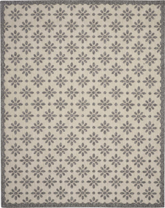 Picture of Cozumel CZM03 Cream Indoor Outdoor Area Rugs