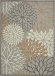 Picture of Aloha ALH05 Natural Indoor Outdoor Area Rugs