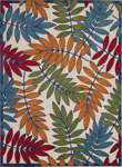 Picture of Aloha ALH18 Multicolor Indoor Outdoor Area Rugs