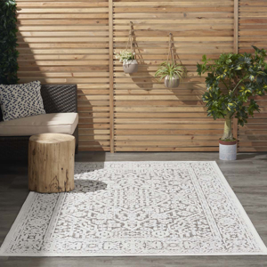 Picture of Key Largo KLG04 Beige Indoor Outdoor Area Rugs