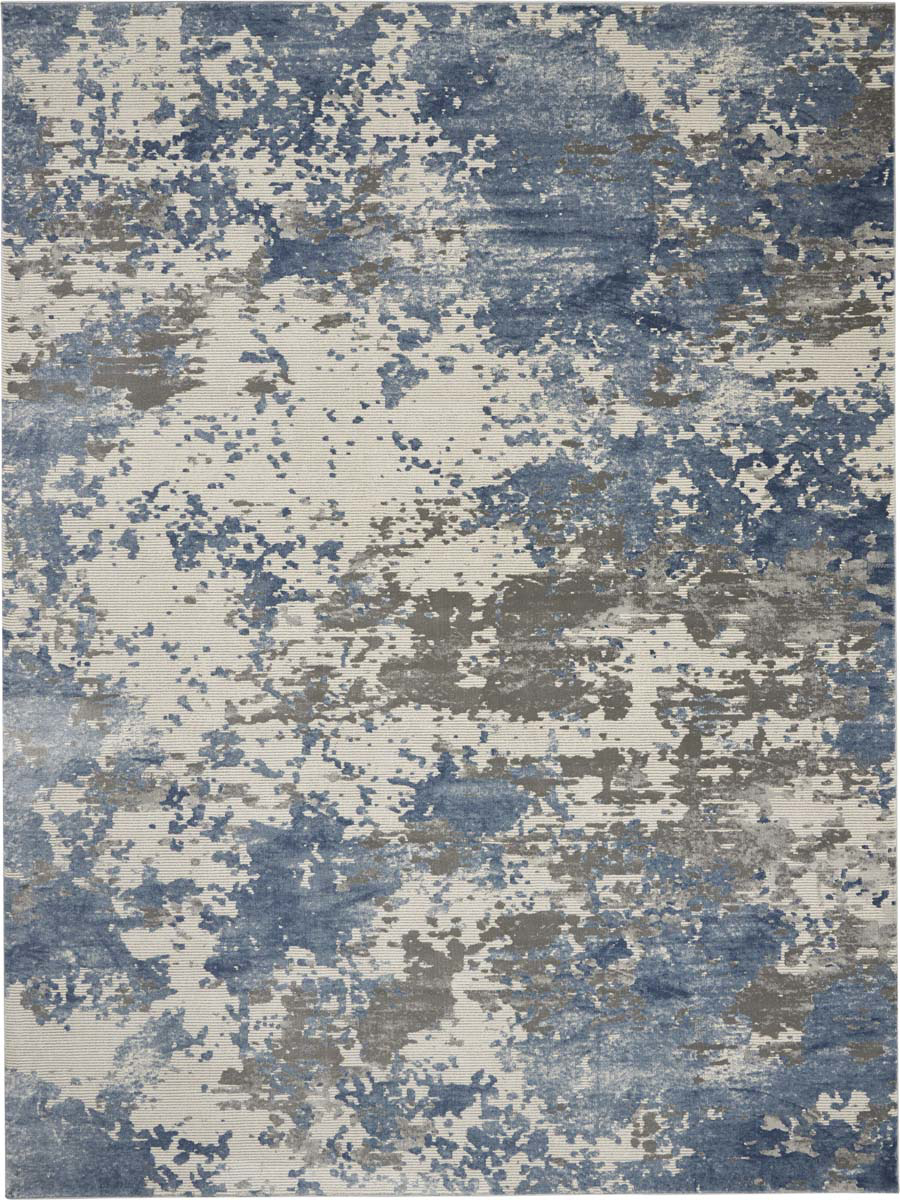 Picture of Rustic Textures RUS08 Grey/Blue