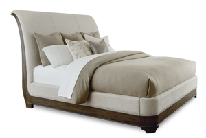 A.R.T. St. Germain Upholstered Sleigh Beds