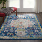 Picture of Ankara Global ANR03 Blue Area Rugs