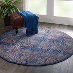 Picture of Ankara Global ANR08 Navy & Multicolor Area Rugs
