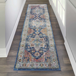 Picture of Ankara Global ANR11 Blue & Multicolor Area Rugs