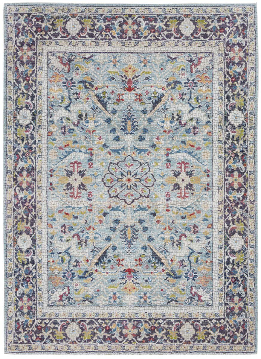 Picture of Ankara Global ANR14 Teal & Multicolor Area Rugs