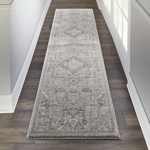 Picture of Kathy Ireland Home Moroccan Celebration KI382 Silver Area Rugs