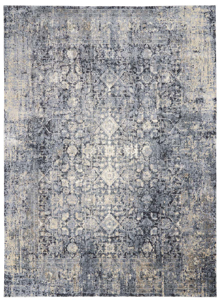 Picture of Kathy Ireland Home Moroccan Celebration KI3M1 Slate Area Rugs